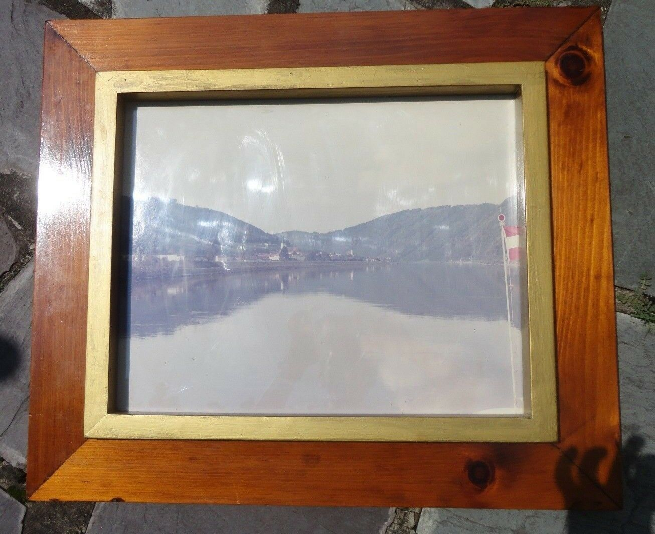 MID CENTURY MODERN Pair (2) Country Cabin Frames Hand Made Crafted ...