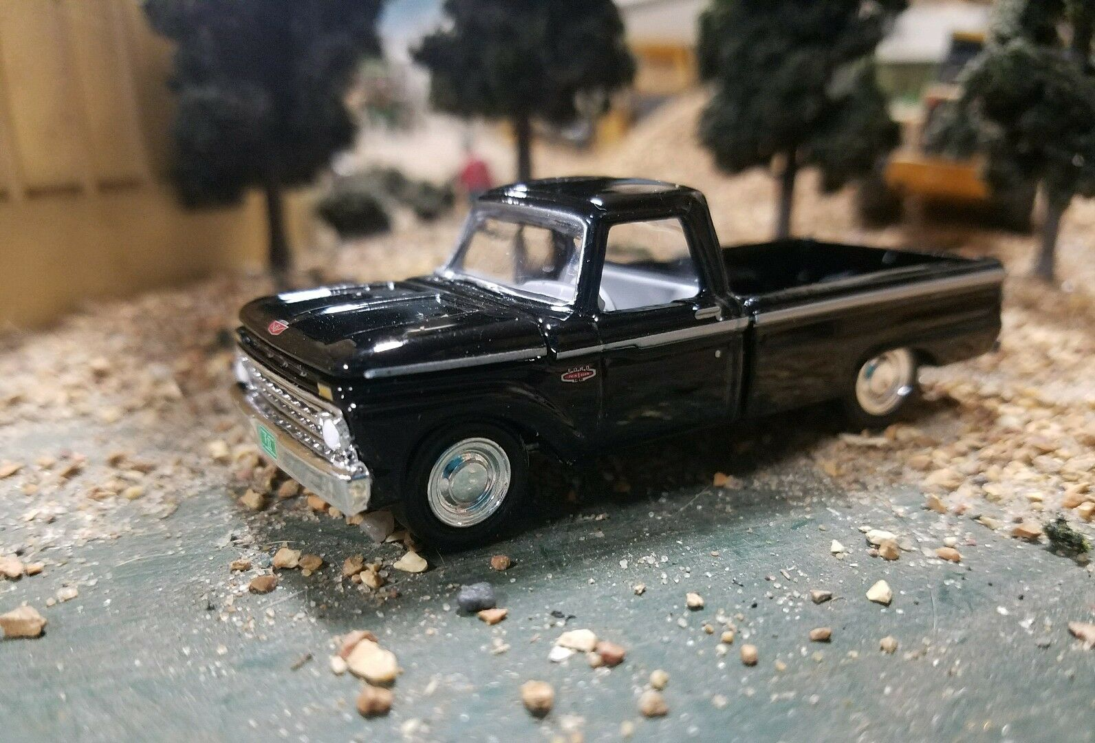 Custom Black 1964 66 Ford Pickup Show Farm Truck 164 Scale 4x4 4wd 1 Of 8 See More