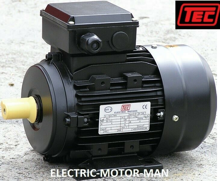 Electric Motor Single Phase 1 5kw 2hp 4 Pole 1400