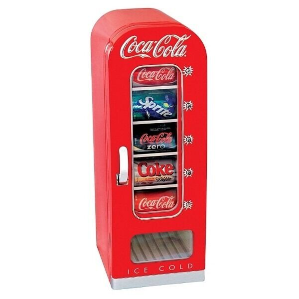 New Coca Cola Coke Small Mini Fridge Vending Machine • $199.95 1 of ...