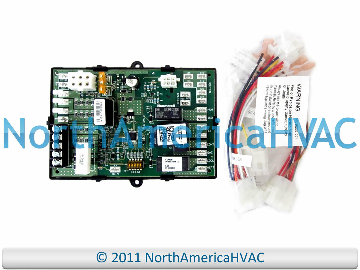 Honeywell Furnace Control Circuit Board St9120u 1011 11825 Wiring 1 Of 1free Shipping