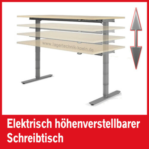 schreibtisch 1800x1000 elektrisch h henverstellbar lg eur 774 00 picclick de. Black Bedroom Furniture Sets. Home Design Ideas