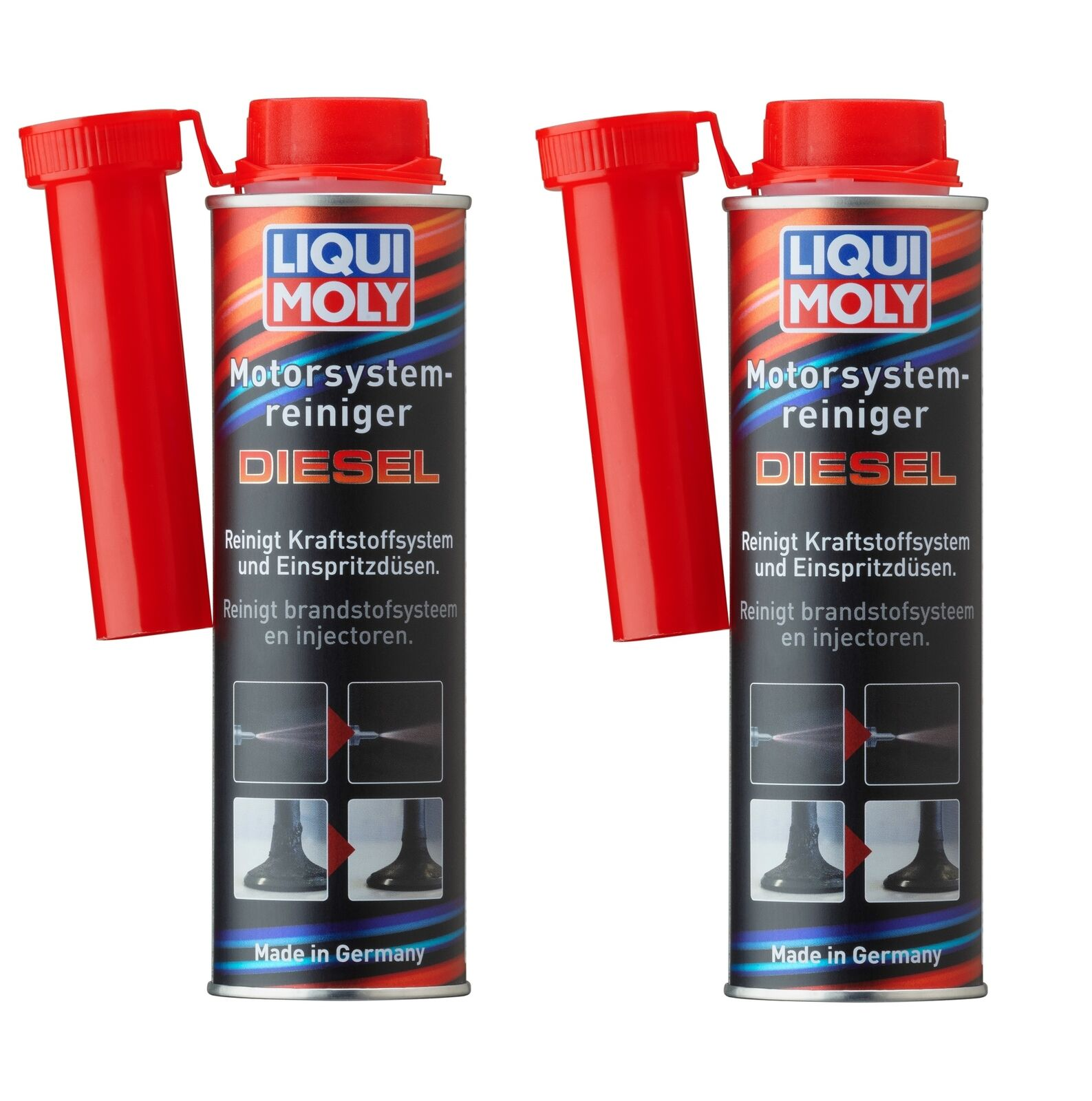 2x liqui moly motor system reiniger diesel 300 ml. Black Bedroom Furniture Sets. Home Design Ideas