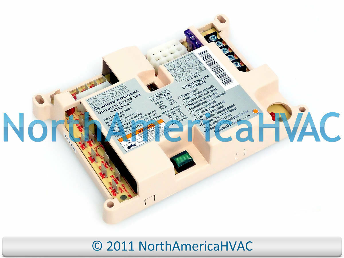 WHITE RODGERS INTEGRATED Furnace Fan Control Circuit Board 50A65 283 ...