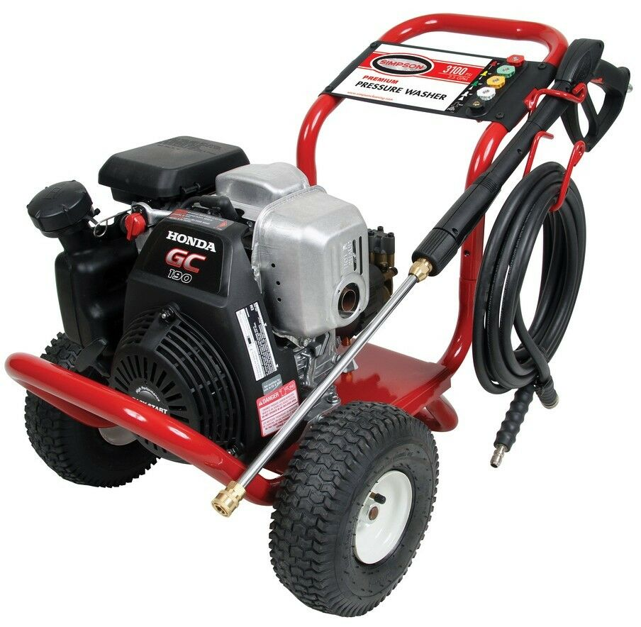 "Honda Gc 190 MSH3125 3100 PSI Gas Pressure Washer Powered By ""Honda"" Engine"