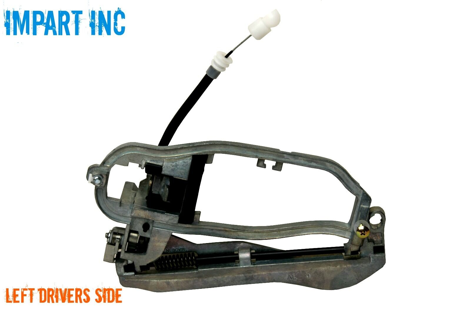 BMW X5 Outer Door Handle Carrier Front with Cable Left ...