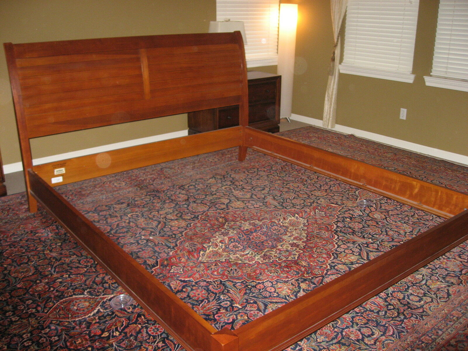 ethan allen sleigh bed assembly instructions