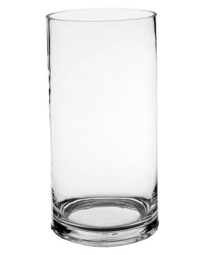 Cylinder Vase Glass Vases Wholesale H 10 Open Diameter 5 Lot