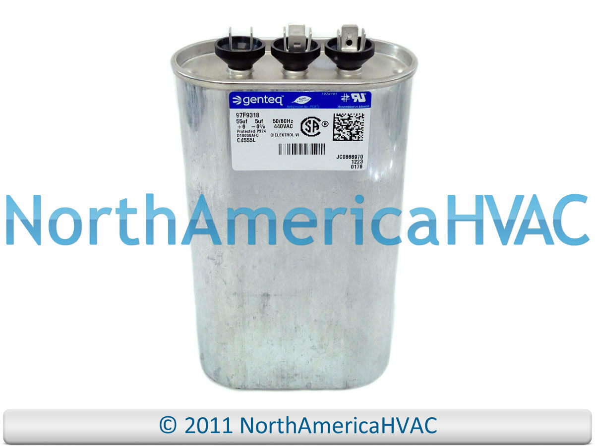 Carrier Bryant Payne Capacitor Dual Run Oval 55 5 Uf Mfd 370 Volt Hvac Wiring Diagram 1 Of See More