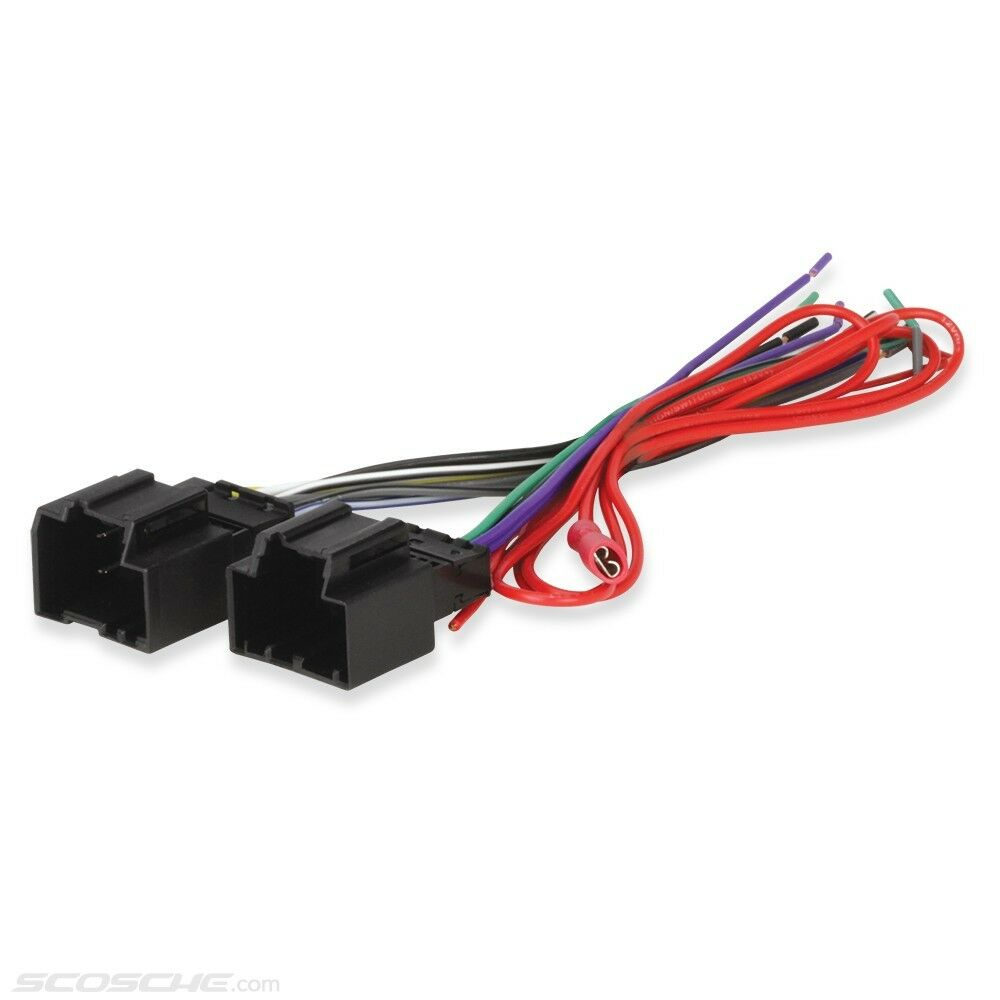 GM Car Stereo CD Player Wiring Harness Wire Aftermarket Radio Install Plug  1 of 3FREE Shipping ...