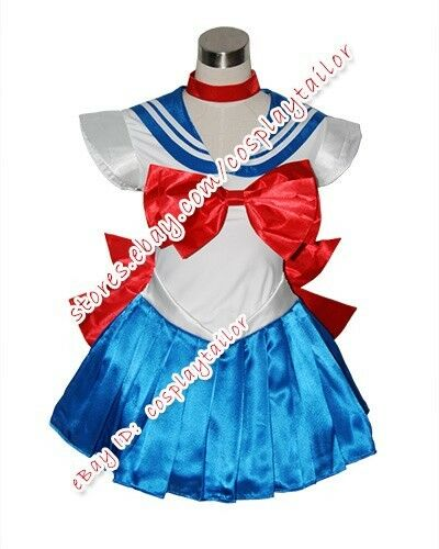 1 of 4 sailor moon serena usagi tsukino cosplay party dress costume uniform halloween