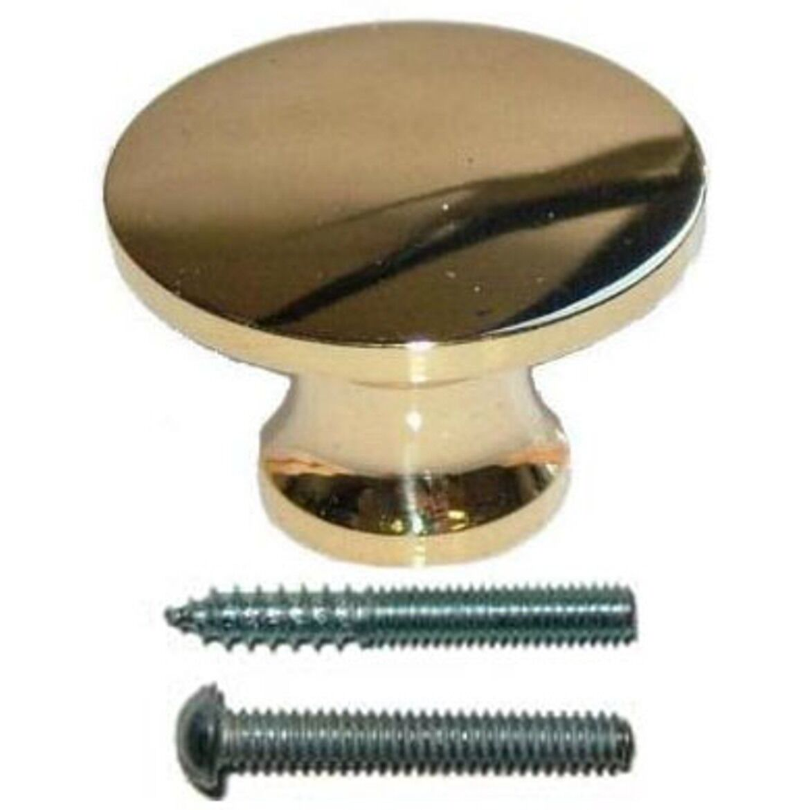 Bk-3D Solid Brass Knob, Diameter: 3/4""