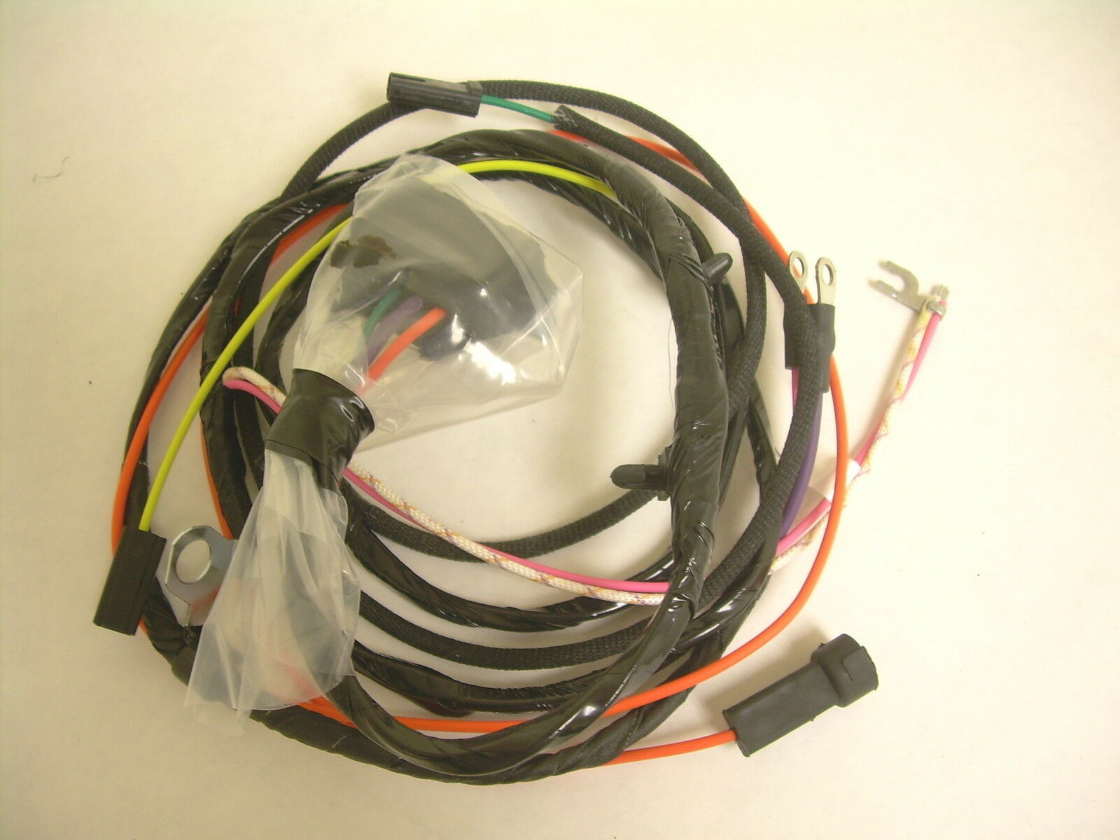 1965 1966 Impala Belair Biscayne Engine Wiring Harness 283 327 with Gauges  SS 1 of 4Only 3 available ...