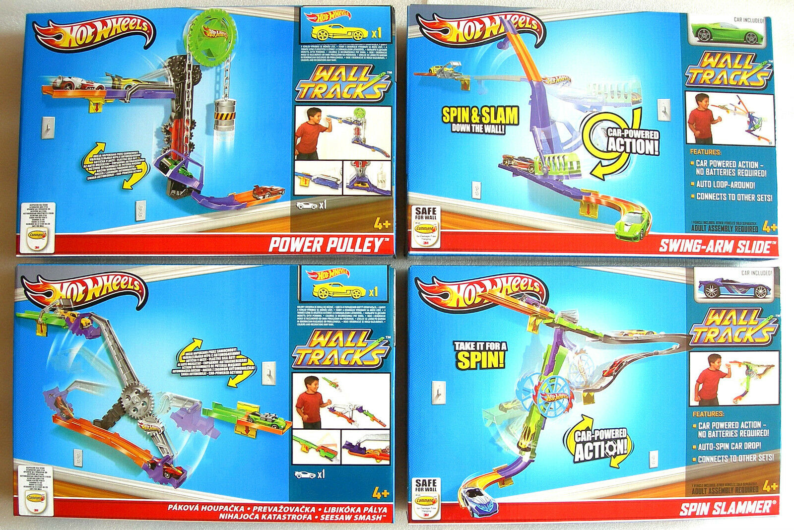 hot wheels wall tracks assembly instructions