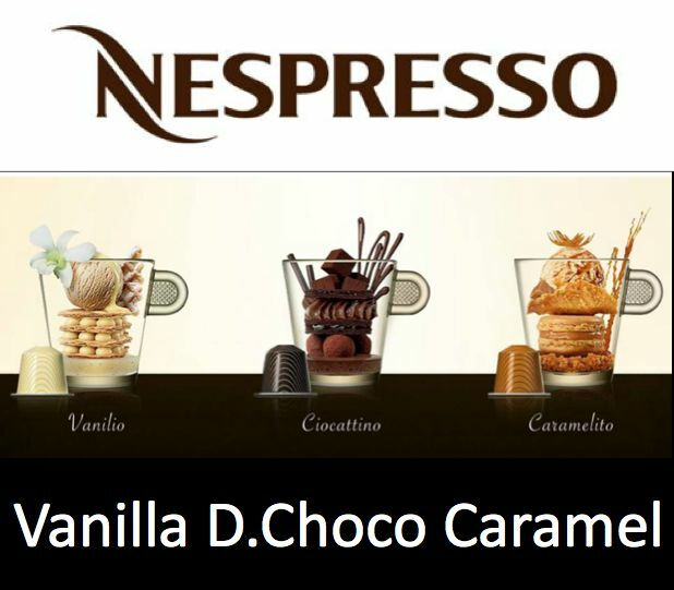 30 All-time Favourite Variation Nespresso Capsule (Vanilla+Chocolate+Caramel)