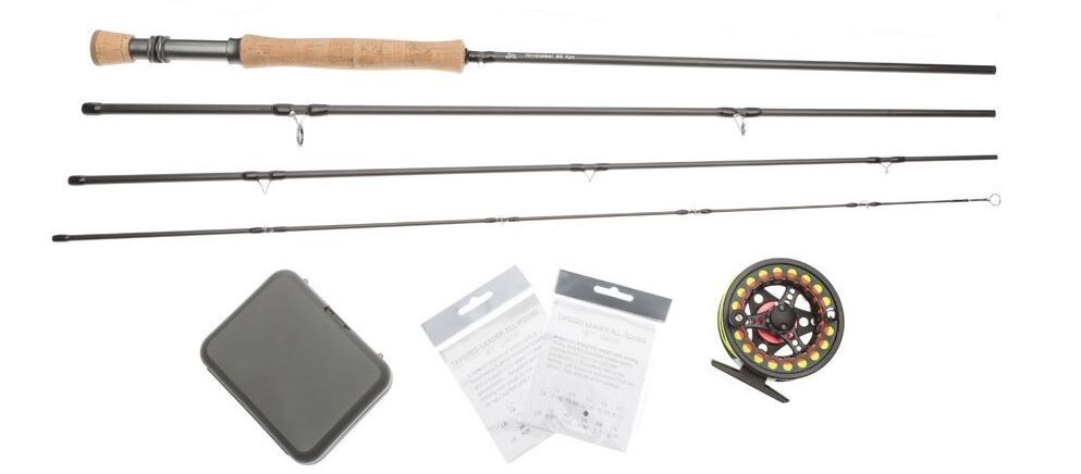 Fly fishing salt outfit rod reel line backing leader for Fly fishing backing