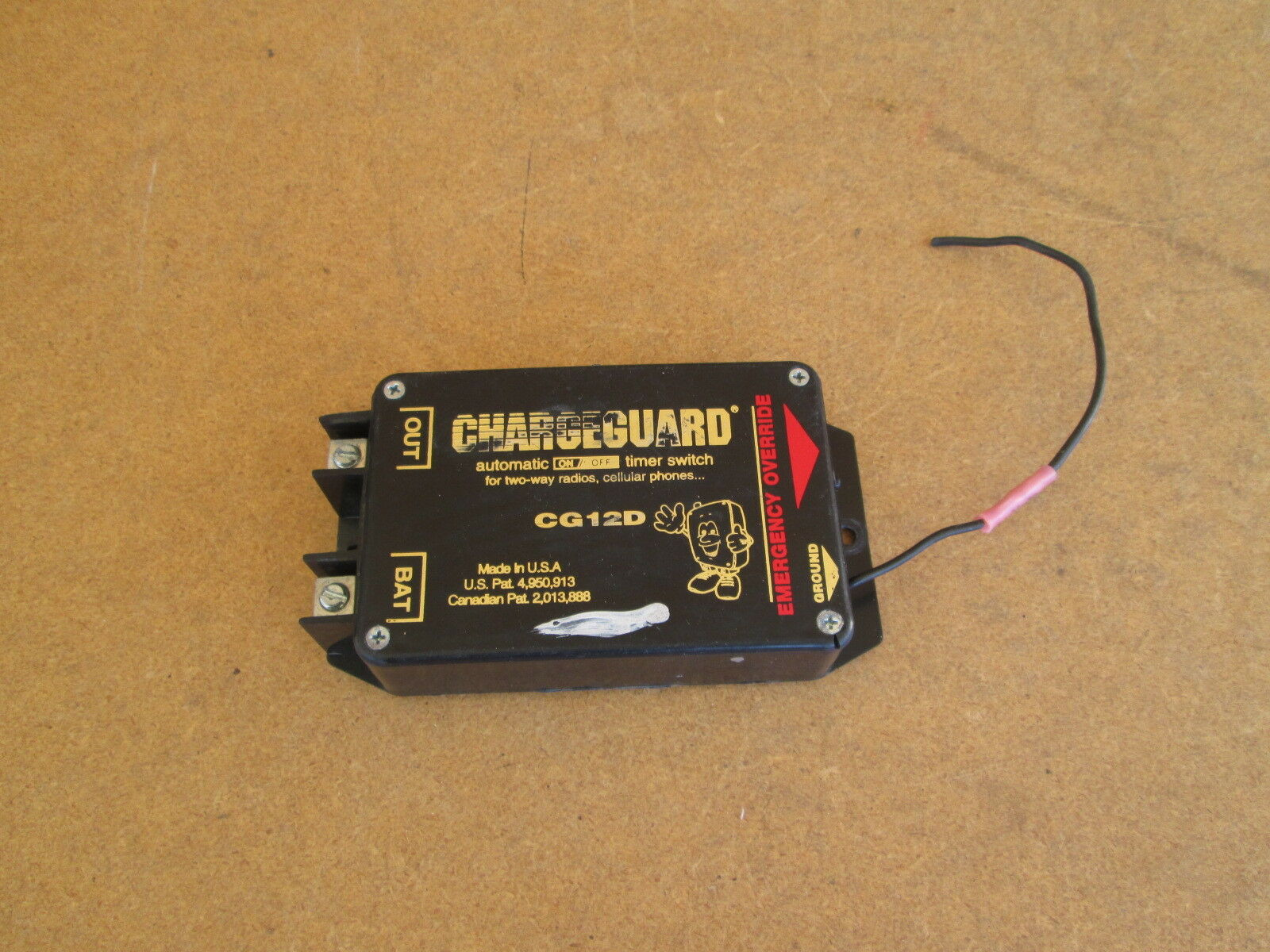 Chargeguard Cg12d Automatic Timer Switch Police Vehicle Battery 2 Way 1 Of