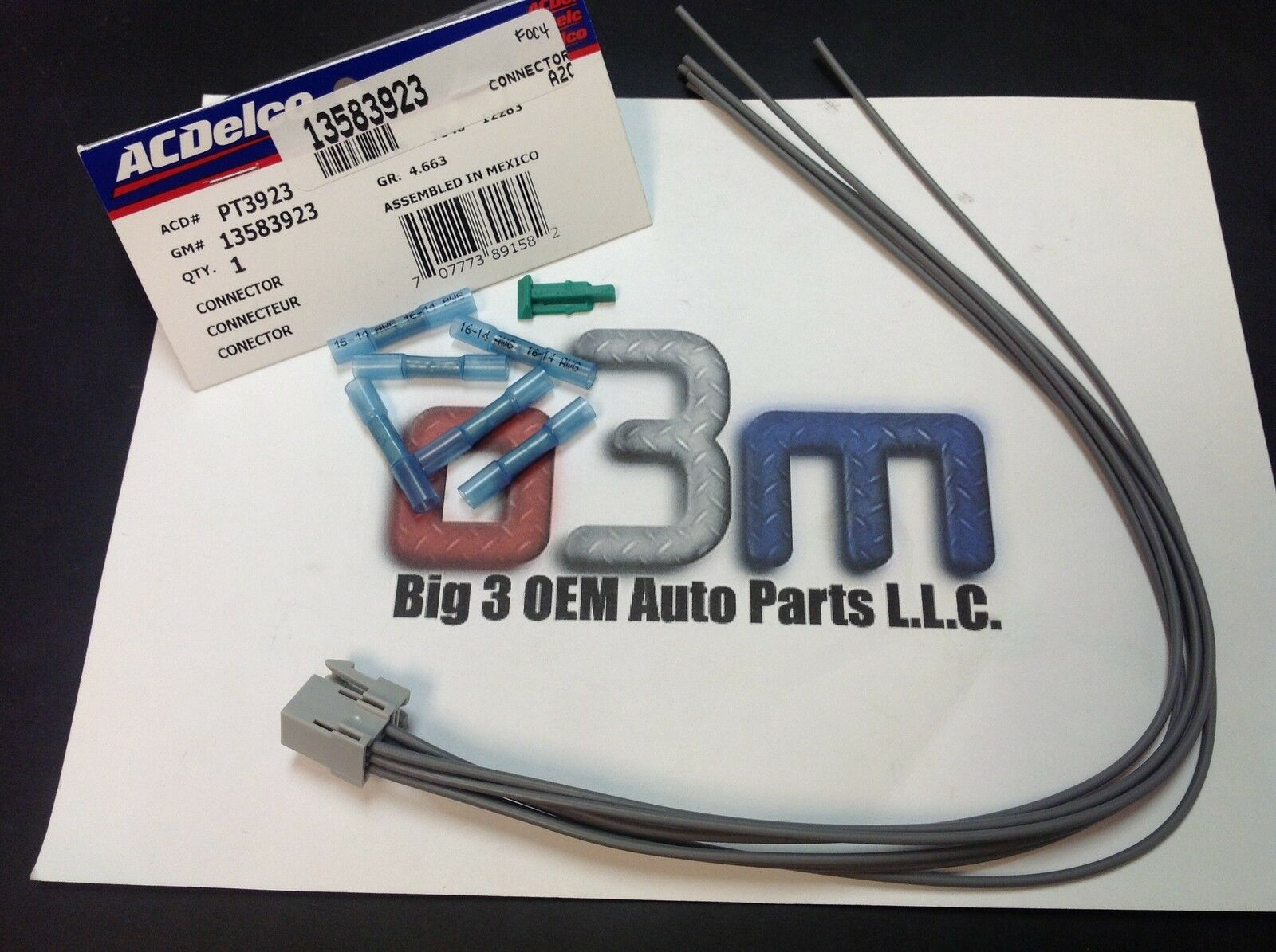 Chevrolet Impala Monte Carlo Automatic Transmission Shifter Wire Oem Gm Wiring Harness New 1 Of 2free Shipping See More