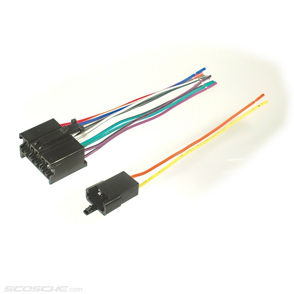 Plugs Into Early Gm Factory Radio Car Stereo Wiring Harness Wire Amp Cable Technician 1 Of 1free Shipping