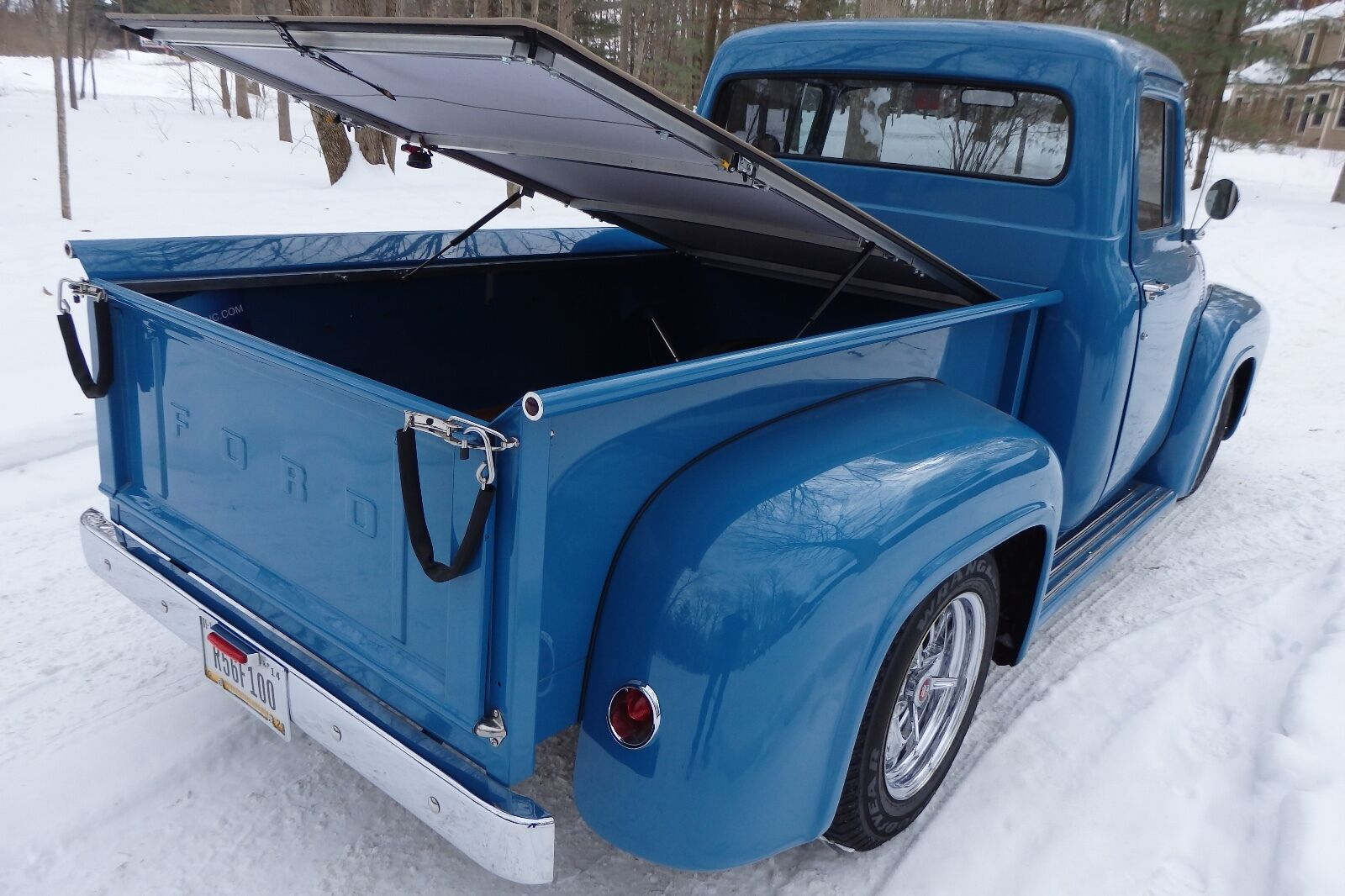 1953 73 Ford F100 Stepside 6 Short Bed Hatch Style Tonneau By 1964 Craftec Covers 1 Of 12