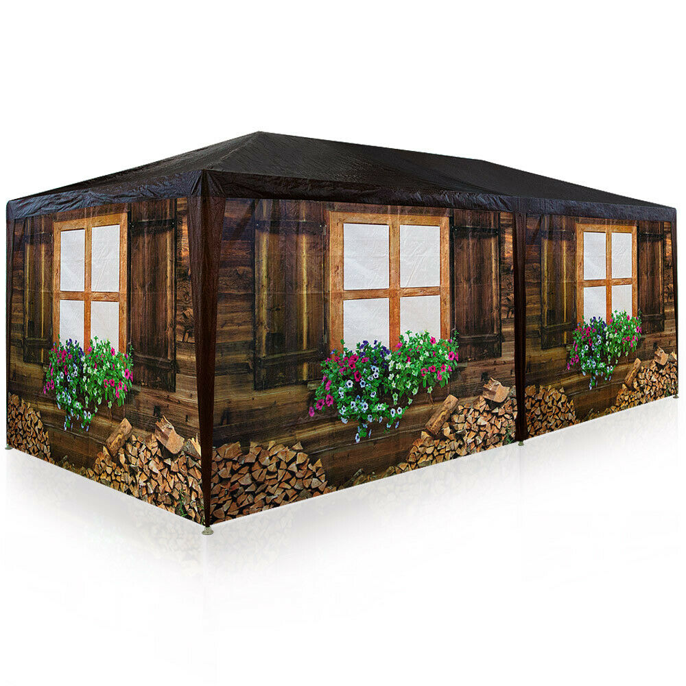 partyzelt festzelt 3x6m oktoberfest bierzelt pavillon holzh tte gartenzelt zelt eur 99 95. Black Bedroom Furniture Sets. Home Design Ideas