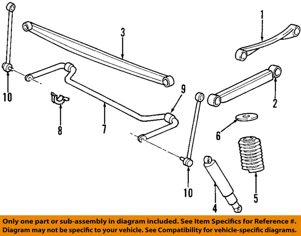 Ford Oem Rear Suspensiontrack Bar F75z5808ac 12757 Picclick. Ford Oem Rear Suspensiontrack Bar F75z5808ac 1 Of 1only 0 Available. Ford. 2003 Ford Windstar Rear Suspension Diagram At Scoala.co
