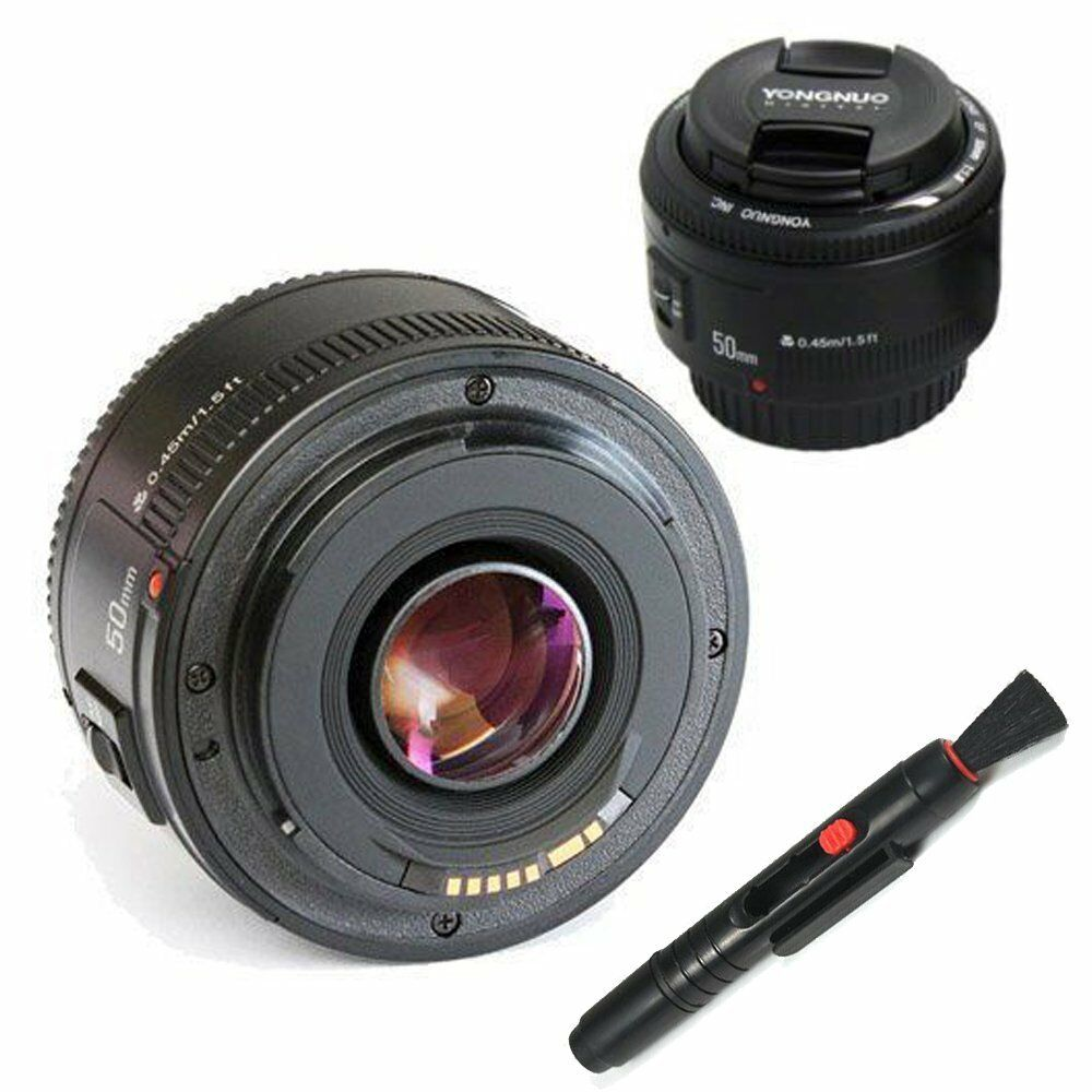 Yongnuo Yn 50mm F 18 Ef Af Mf Prime Fixed Lens For Canon Eos Fix 1 Of 6free Shipping See More