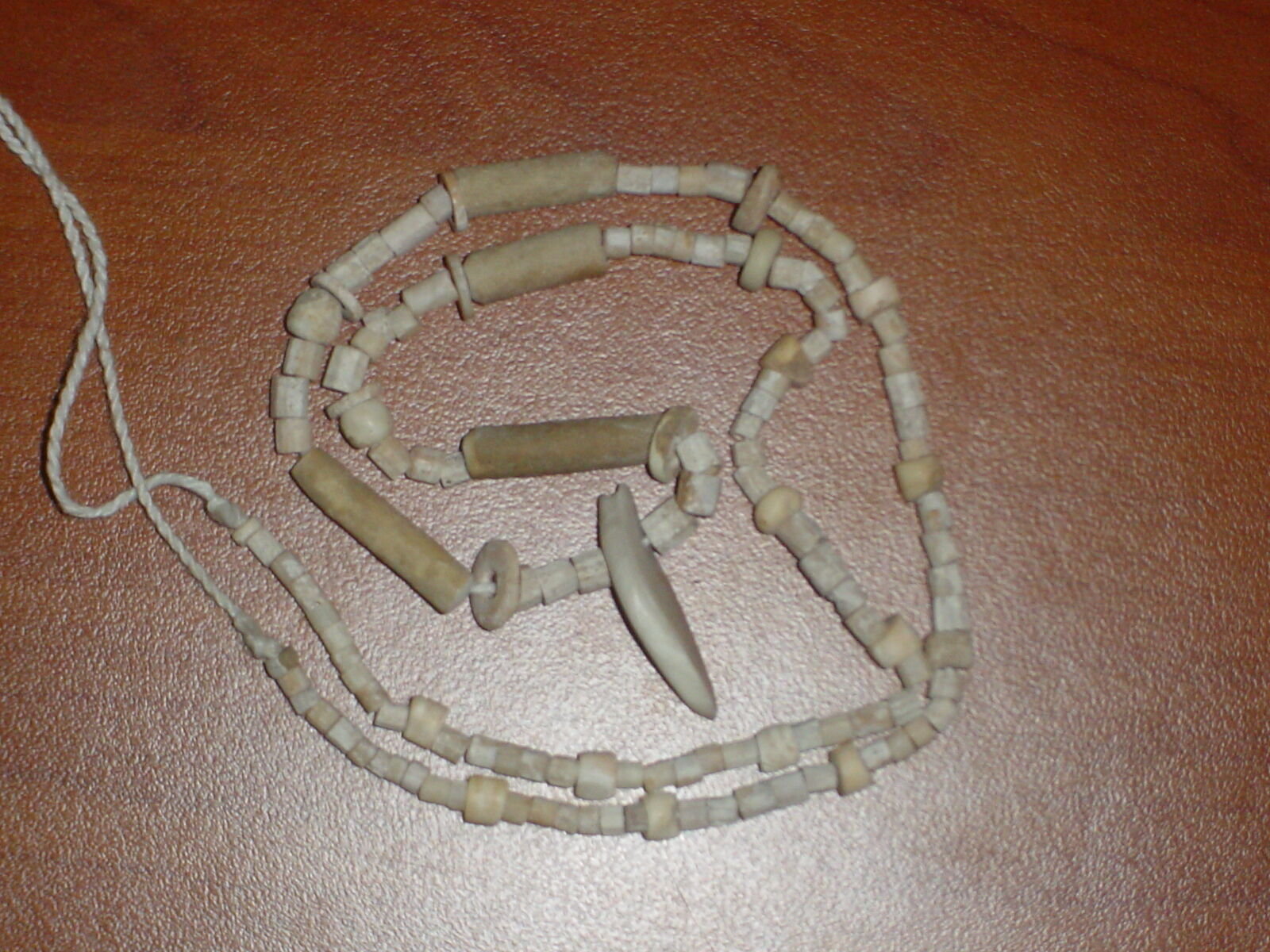 Ancient Roman Shell/Bone Beads Strand C.200 BC  #0183