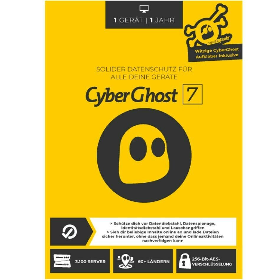 Cyberghost Testversion