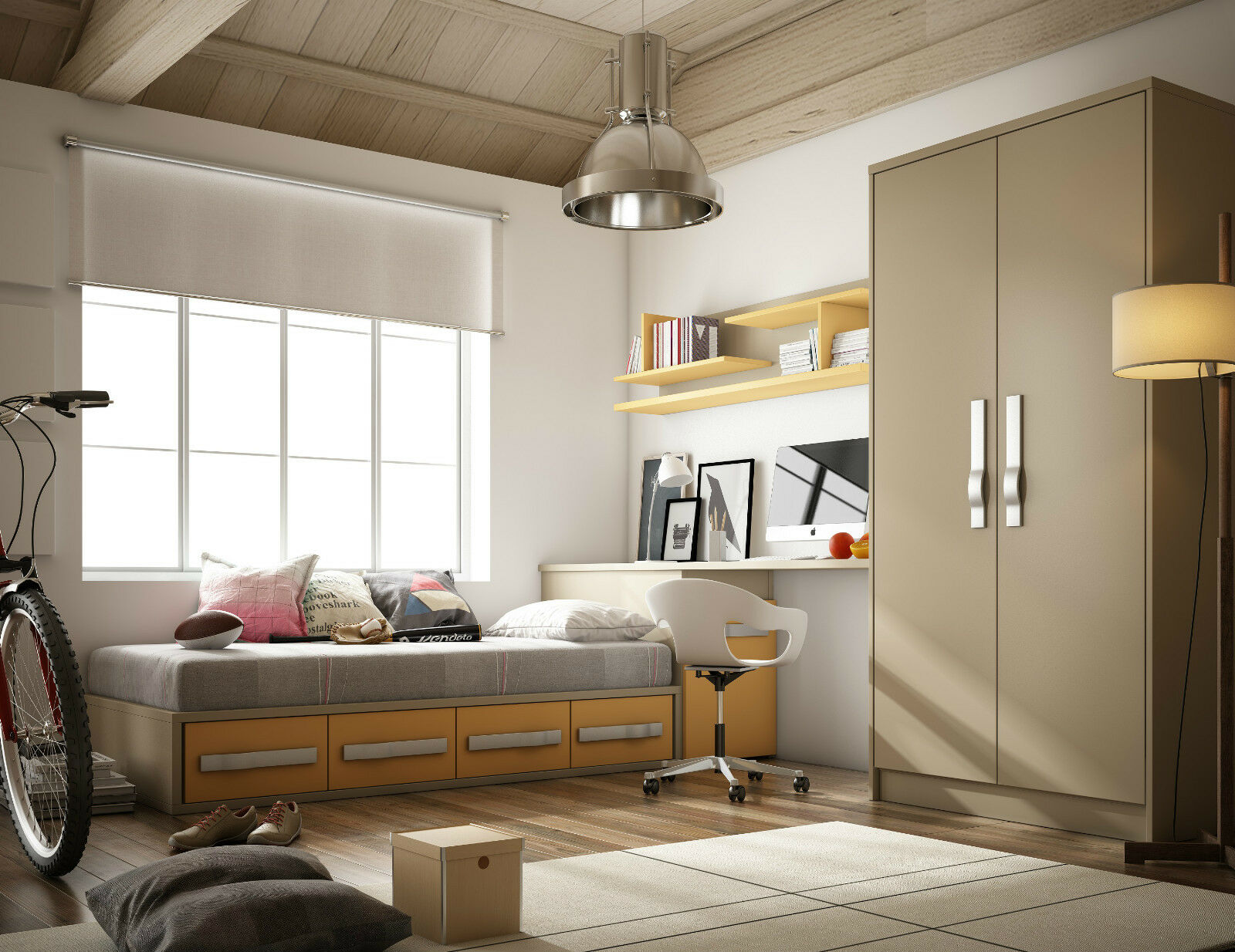jugendzimmer cool in 41 farben geplant kleiderschrank. Black Bedroom Furniture Sets. Home Design Ideas