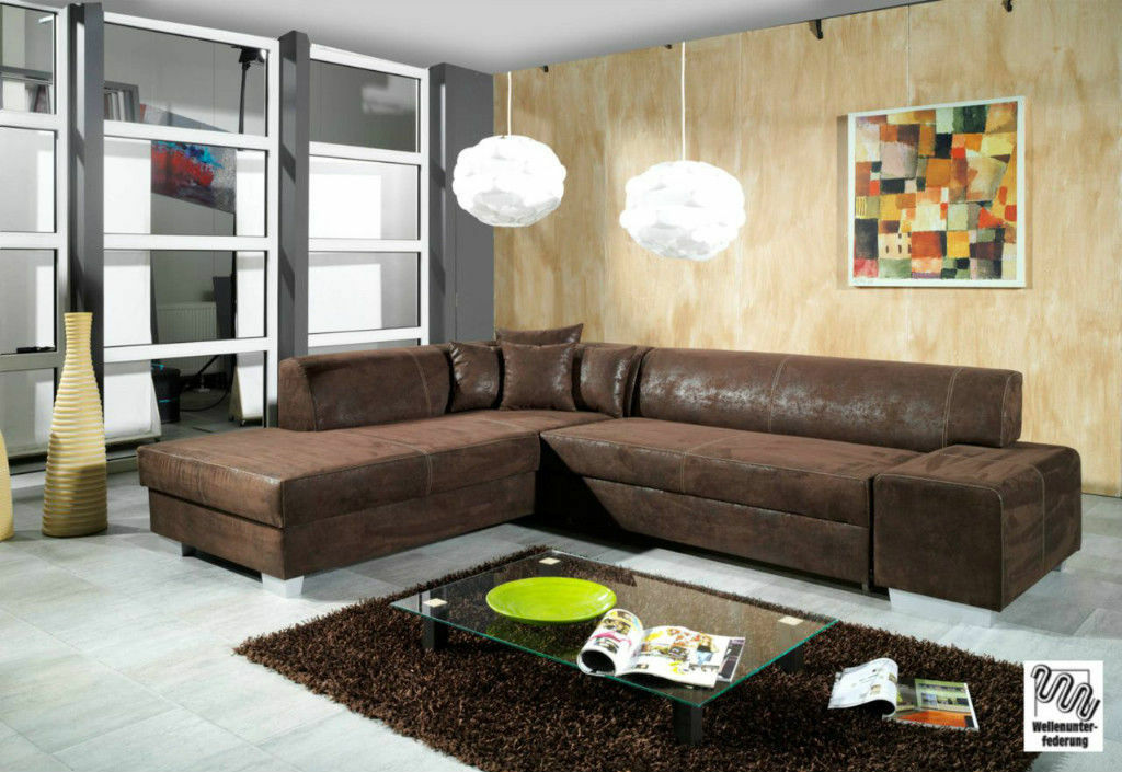 couch couchgarnitur sofagarnitur oscar mit schlaffunktion wohnlandschaft eur 749 00 picclick be. Black Bedroom Furniture Sets. Home Design Ideas