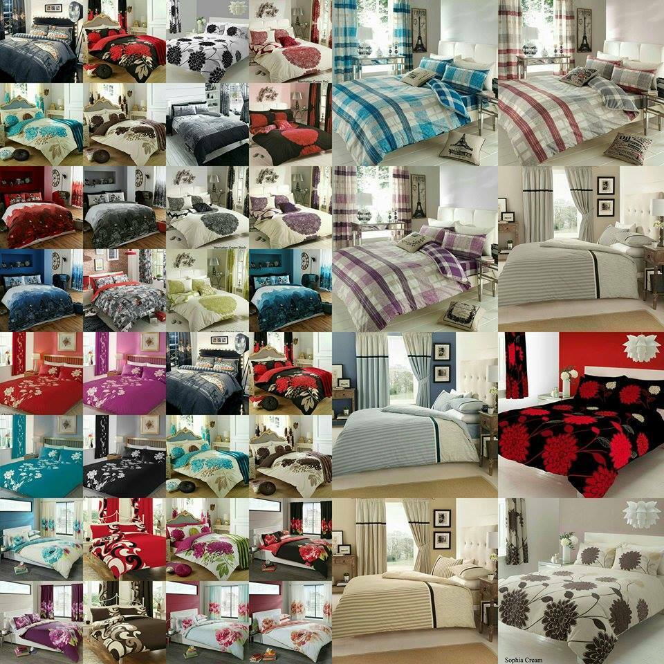 Duvet Cover Set With Pillow Case Beautiful Colours And