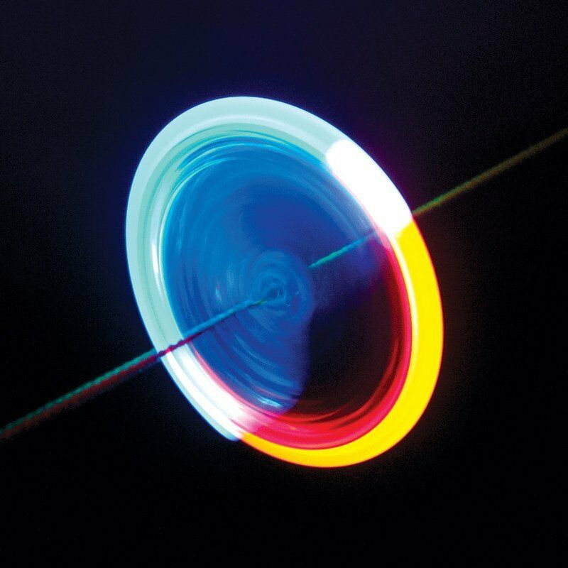 Light spinner light up toy best seller ideal party bags for Light up fishing spinners