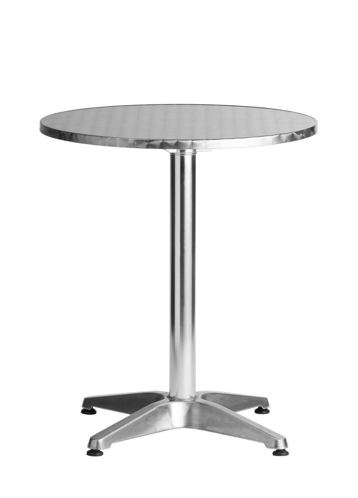 Aluminum Tables Commercial Modern Restaurant Table 23 5 Round Bar Dining