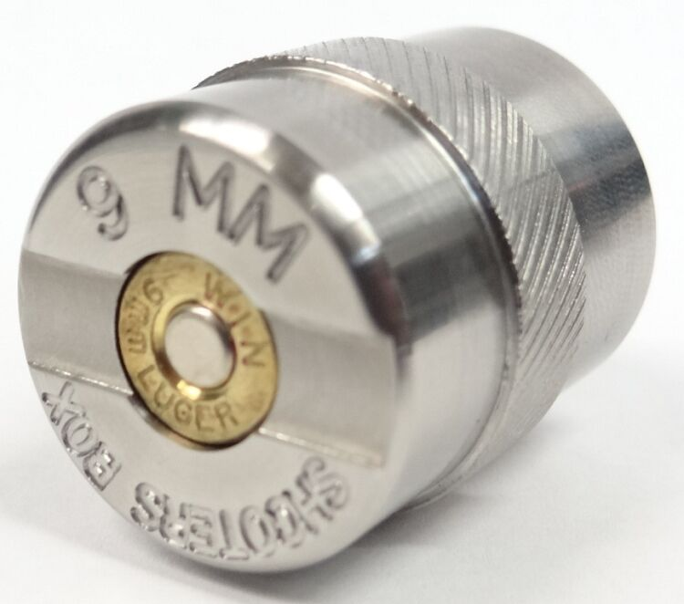 9mm case ammunition gauge for checking your reloads for Amo manufacturing spain