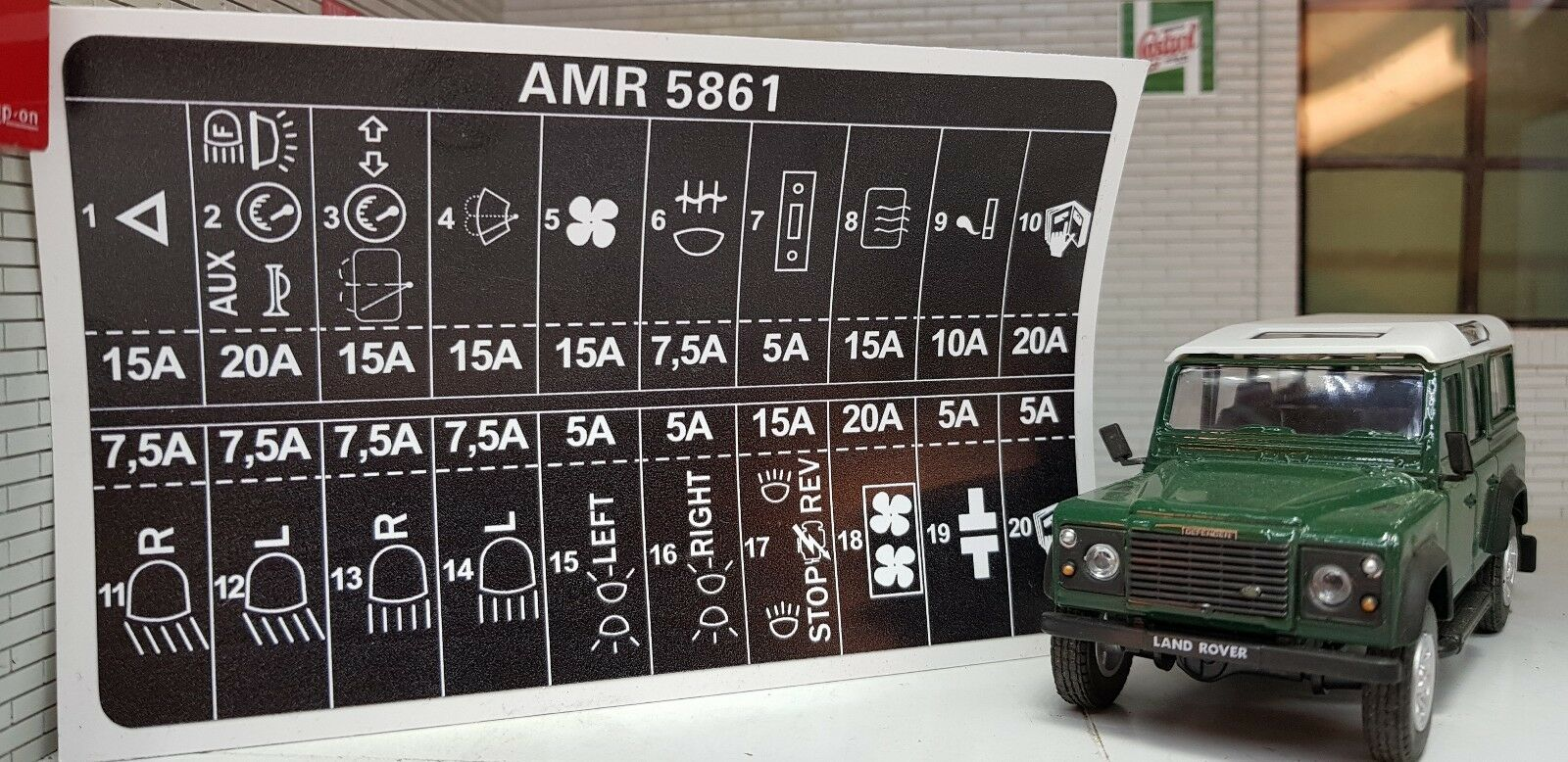 Land Rover Defender Puma Fuse Box Location Car Layout Cover Wiring Diagram Electricity