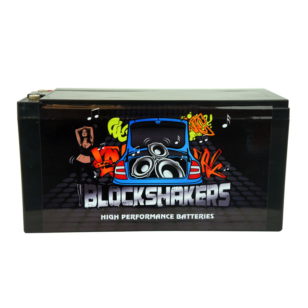 Blockshakers 16 Volt Power Cell Car Audio Battery High
