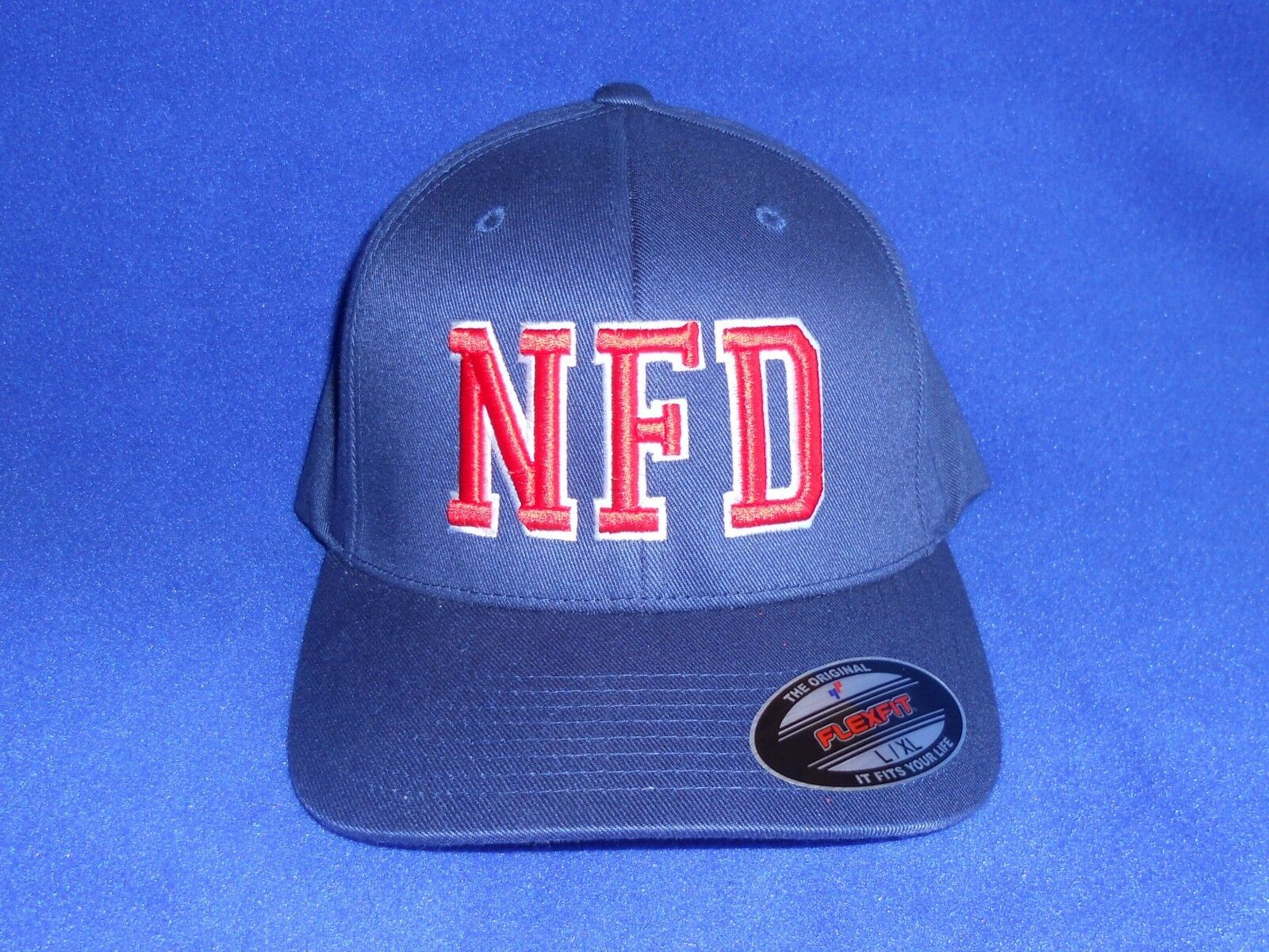 Firefighter Ball Cap With Custom 3d Puff Embroidery Fire Department