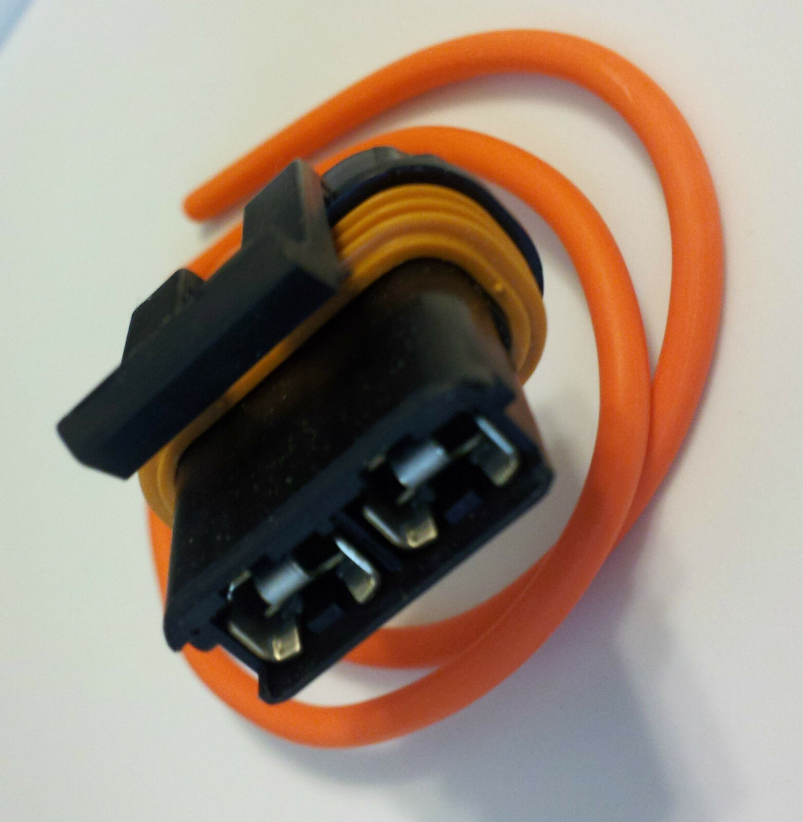 Chevy Gm A C Blower Motor Fan Connector 1985 Up Wire Pigtail Plug Glow Wiring 1 Of 6free Shipping
