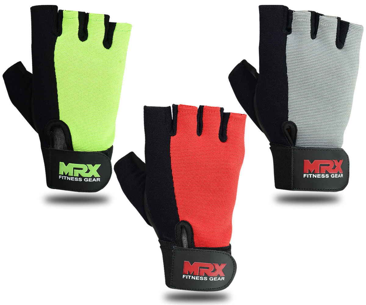 Women Weight Lifting Gloves Gym Fitness Training Mrx: WEIGHT LIFTING GLOVES Men Women New MRX Gym Fitness