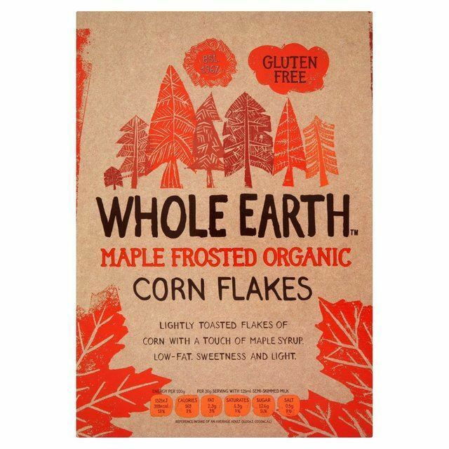 Whole Earth Organic Maple Frosted Flakes 375g