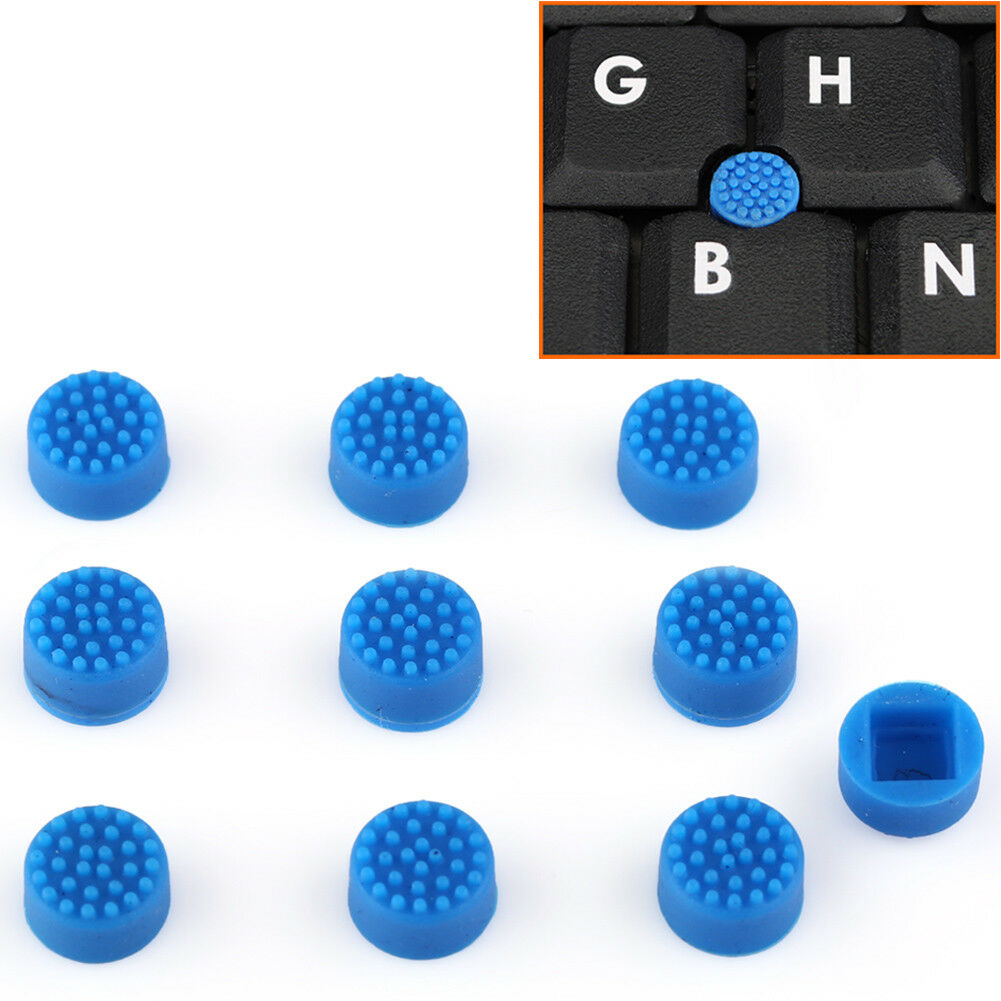 10xblue Trackpoint Cap Rubber Mouse Nipple Soft Domes For Dell Hp Toshiba 1 Of 6free Shipping