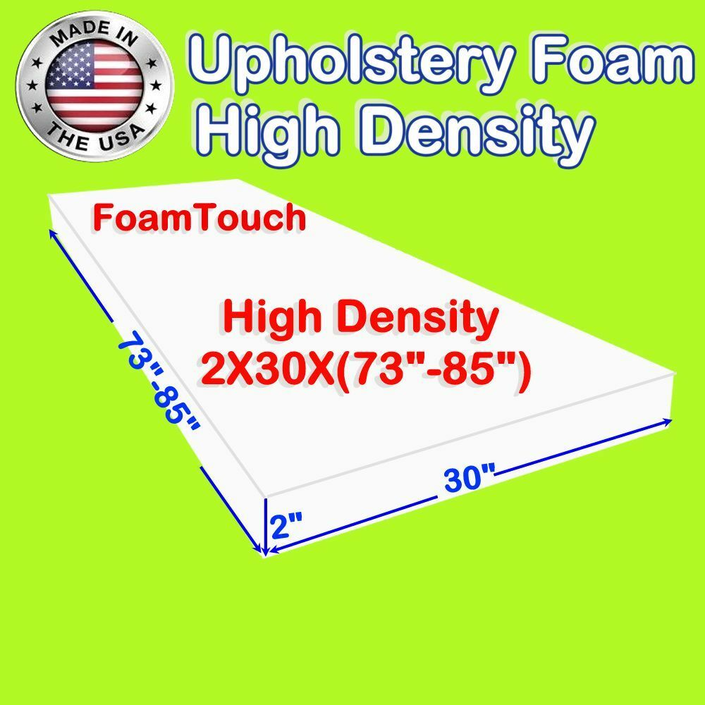HIGH DENSITY #FOAMTOUCH Upholstery Foam size 2\