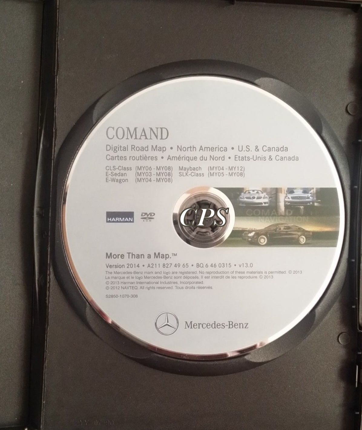 2014 Update Mercedes Ml Ml320 Ml350 Ml500 Ml550 Ml63 Navigation Cd Benz Command Harman Becker Car Stero Wiring Diagram Connector 1 Of 3only Available
