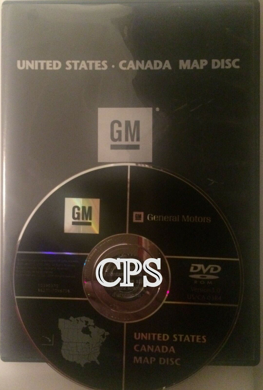 OEM GM GENERAL Motors Cadillac Navigation Disk CD 15906573 5.00 ...