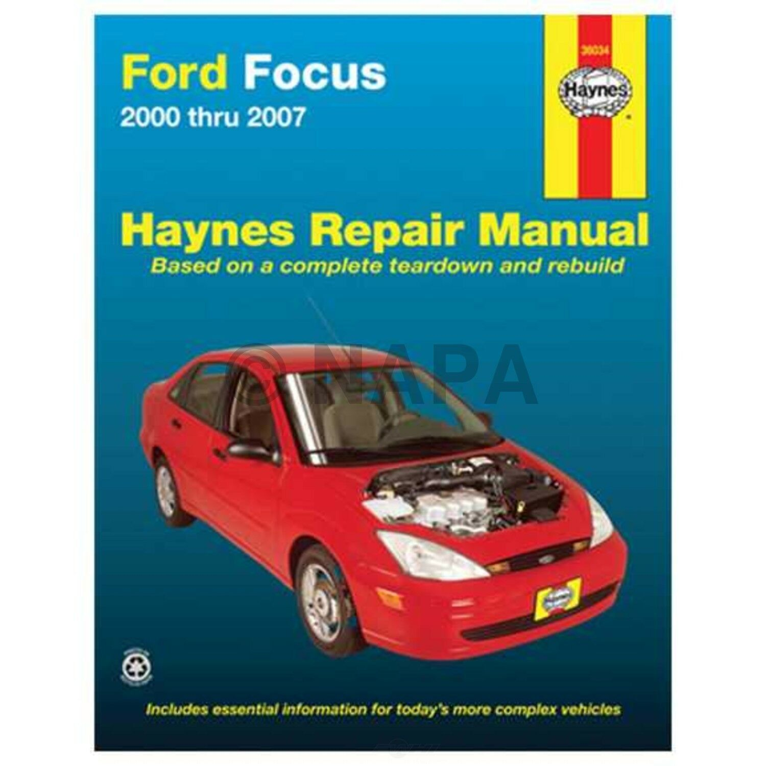 Repair Manual NAPA 7993077 fits 00-11 Ford Focus 1 of 1Only 1 available ...