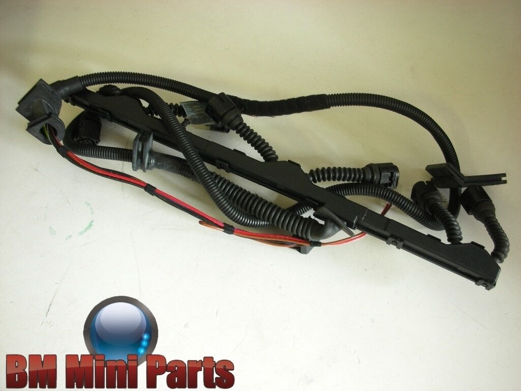 Bmw E39 Engine Ignition Module Wiring Harness 12517518022 11500 2002 Loom 1 Of 1only Available