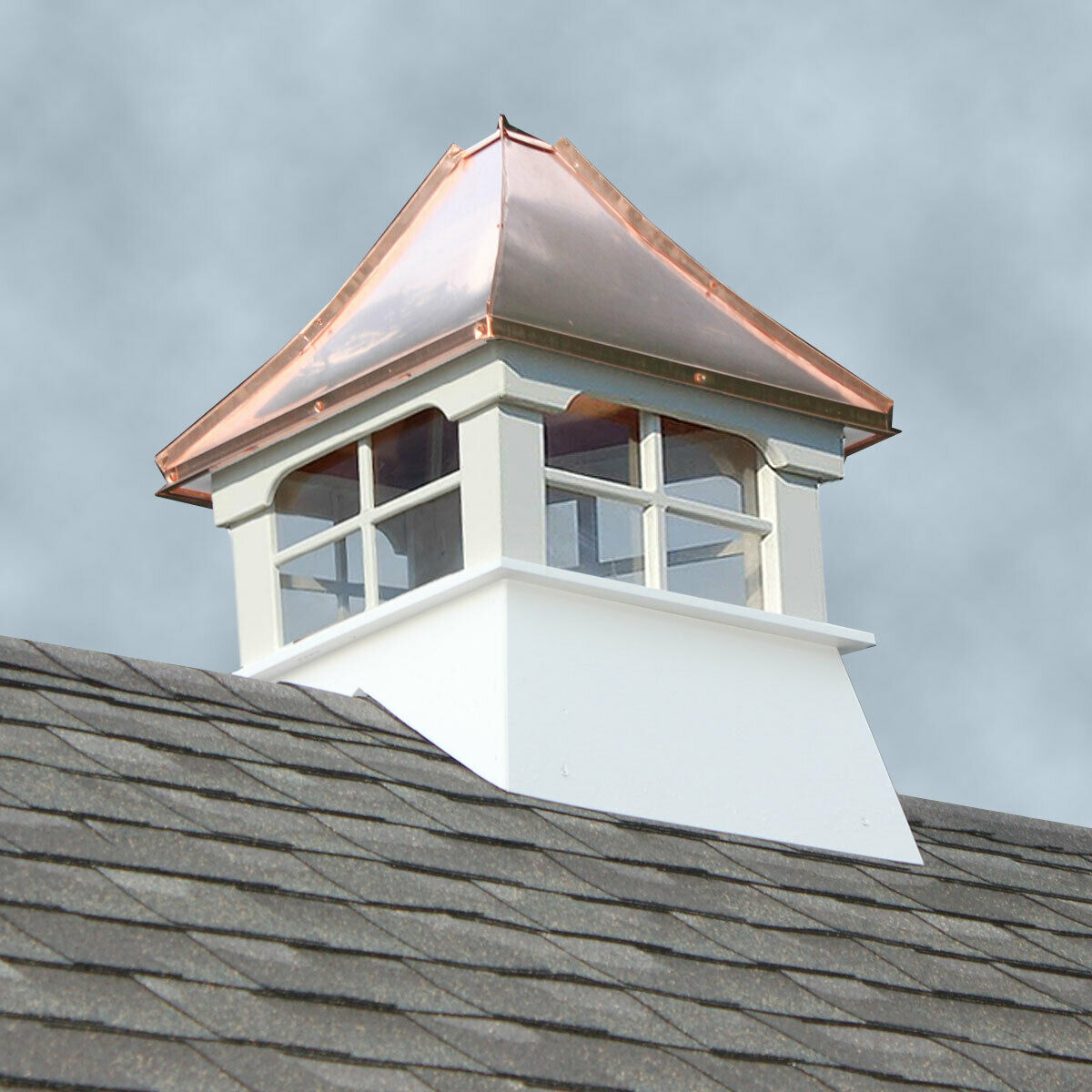 Accentua Rainier Vinyl Cupola With Copper Roof 20 In