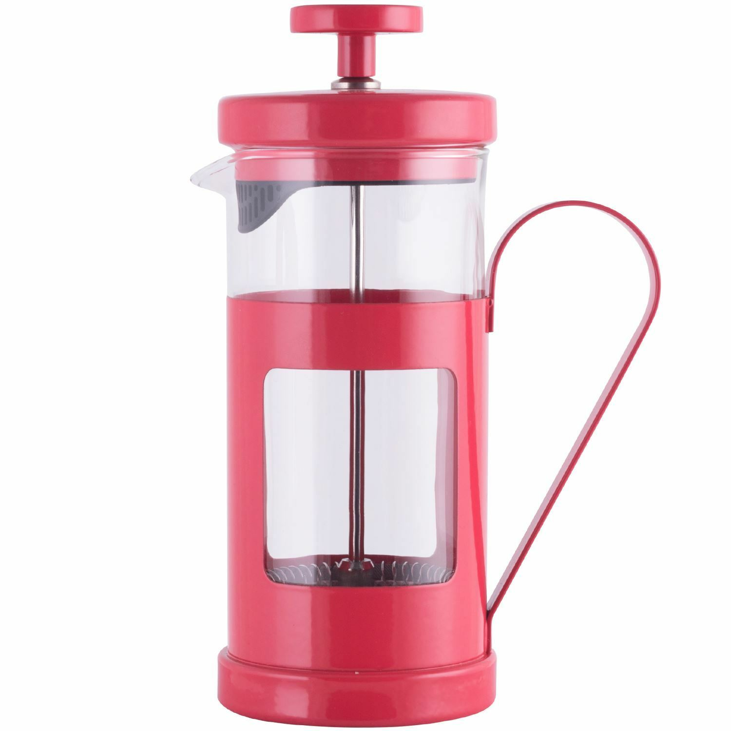la cafetiere monaco 3 cup red cafetiere coffee maker picclick uk. Black Bedroom Furniture Sets. Home Design Ideas