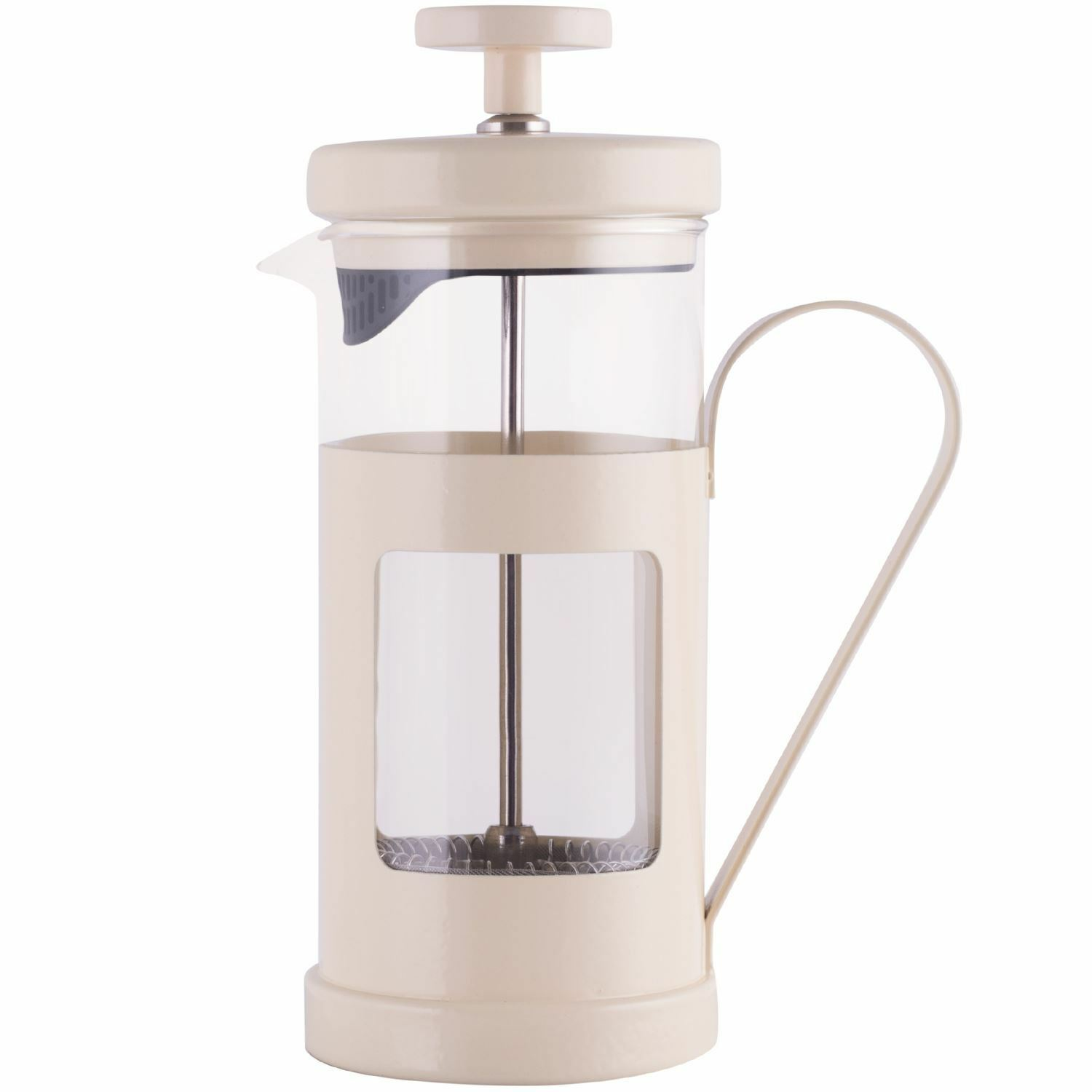 la cafetiere monaco 3 cup cream cafetiere coffee maker picclick uk. Black Bedroom Furniture Sets. Home Design Ideas